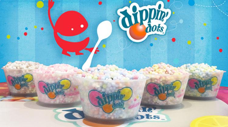 Awesome Dippin Dots Ice Cream 1St Floor Shops Tokyo Joypolis Funny Birthday Cards Online Kookostrdamsfinfo